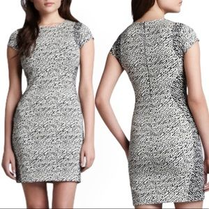 DVF Pele Snake Wave Jacquard Dress size 8